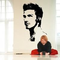 Free Shipping Soccer star David Beckham European People Planet W001
