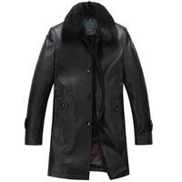 Sheep genuine leather clothing male 2013 sheepskin male jacket outerwear 1068