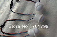 26mm diameter WS2812B LED pixel module;1pcs WS2812BLED,DC5V input;milky cover