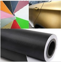 1.27*200CM,High Quality 3D Carbon Fiber Vinyl Car Wrapping Foil,Car Sticker