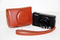 New camera case bag cover pouch for Fujifilm Fuji X-Q1 XQ1 - Red, Brown, White, Black