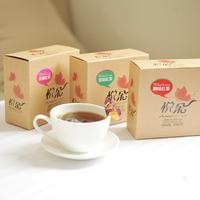 Butterfly triangle bag black tea dian hong box set original rose jasmine 3 boxes
