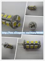 10ps/lot 12V DC G4 LED light SMD 5050 15leds G4 leds 3.6  Super bright Cold white/ Warm white   Free shipping