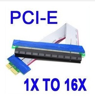 pcie 1x to 16x riser cable , pci express 1x to 16x extend cable , perfect for litecoin mining rig