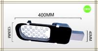 Led Street / Road Lights Lamp 24W DC12V 24LEDS Warm White/ Cool White Outdoor Lighting Streetlight 10 PCS/LOT