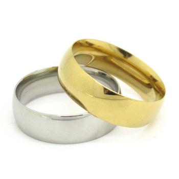 Plain Gold Rings for Women