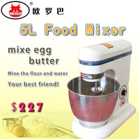 commercial 5L Food mixer/egg beater/dough mixer bakery equipment