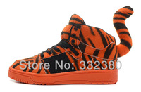 "Free Shipping 2014 New Boys & Girls Jeremy Scott Tiger Bear Shoes Jeremy Scott Originals ""Tiger"""