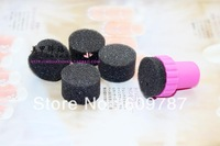 Free Shipping 20sets/lot Sponge Nail Art Set Stamping Art Kit with 5 Gradual change  Sponges