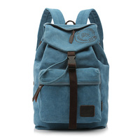 2013 canvas male bag laptop bag backpack travel bag large capacity bag business bag