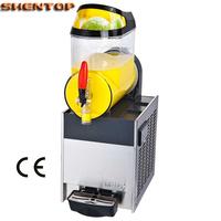 SHENTOP Slush Machine Single cylinder 10L CE approved slushy machine  STXR10-J1