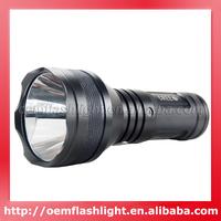 COURUI Cree XM-L2 U2 LED 3-Mode 1200 Lumens Flashlight (3 x 18650)