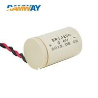 Lithium battery 1/2aa 3.6V battery waterproof battery