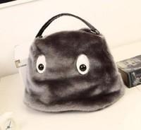 2014 Hot Sale Rushed Interior Zipper Pocket Zipper Bolsas Women Handbags Winter Plush Women's Handbag Portable Bag Messenger