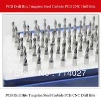 Top Quality PCB Drill Bits Tungsten Steel Carbide PCB CNC Drill Bits Milling Machine 3.175*1.8mm 10pcs/lot