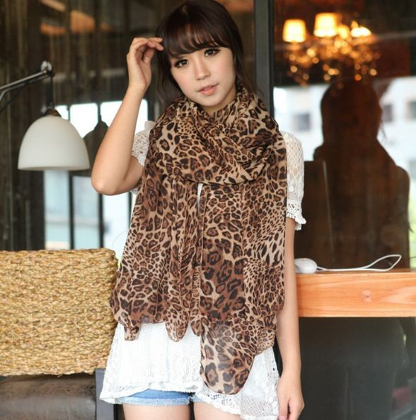 Free shipping!Scarf Women 2014 Autumn And Winter Female Great Leopard High-grade Loyer Long Scarf Dual-purpose!#M217(China (Mainland))