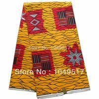 2014 new design fashion 100% cotton african veritable dutch real print super wax hollandais fabric 6yard free shipping WL6