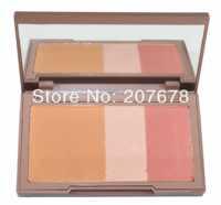 2013 New NAKED, Urban Brand Makeup Blush, Flushed Blusher , Bronzer &Highlighter &Blush 3 Diff Color Dropship Free Shipping