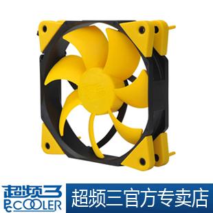 Quieten f-83 8cm fan computer case single fan cpu fan shock absorption function(China (Mainland))