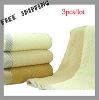 [TOWEL] 33*72 cm 85g 3pcs/lot Solid Benefit Face Super Absorbent Washcloths Towels a Set Of Kitchen Towels Novelty Households