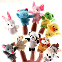 2014 Red Blue Yellow Pink Special Offer free Shipping Lovely Mini Finger Accidentally, The Good Toy Story, Hand Puppets, Dolls