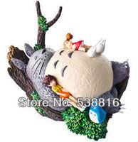 Free Shipping High Quality 9cm Hayao Miyazaki Totoro PVC Action Figure Toy Wholesale and Retail