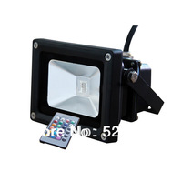 12PCS/ lot RGB Fluter light 10w / 20w , led Flood lamp IP65