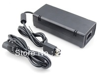 100-245V 12V AC Adapter Charger Power Supply Cord Cable for Xbox360 Slim Brick