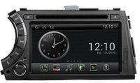Android  2.3 OS Car DVD Player For Ssangyong Actyon kyron With GPS Navigation Radio A8 3G Wifi 20 Dics Playing