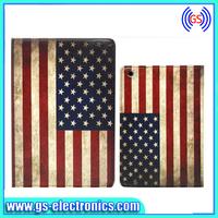 GS Country Flag PU Leather Flip Cover for Ipad Mini UK Flag USA Flag Free Shipping Cases for Ipad Mini