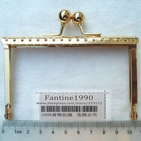Free Shipping/10.5 cm golden barge feet purse frame ,purse frame for DIY Bag Accessories / Wholesale