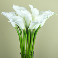 Large calla artificial flower silk flower PU flower  fashion decoration flower