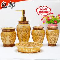 volume sales Resin bathroom set of five pieces wash set brief shukoubei set bathroom supplies kit