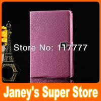 Fashion Diamond Leather Case for Retina iPad mini 1/2/3 Luxury Magnetic Wallet Cover Screen Protector Gift