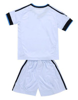 Youth 12-13 real madrid Home kids Jerseys red black kits Soccer Unforms 2012-2013 Cheap Soccer Jersey mix order size 16-28