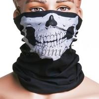New Skull Mask Costume Halloween Sturmhauben Windmask Totenkopf Ghost Biker Motorrad Maske Tube Tunnel Schlauch Tuch Mundschutz