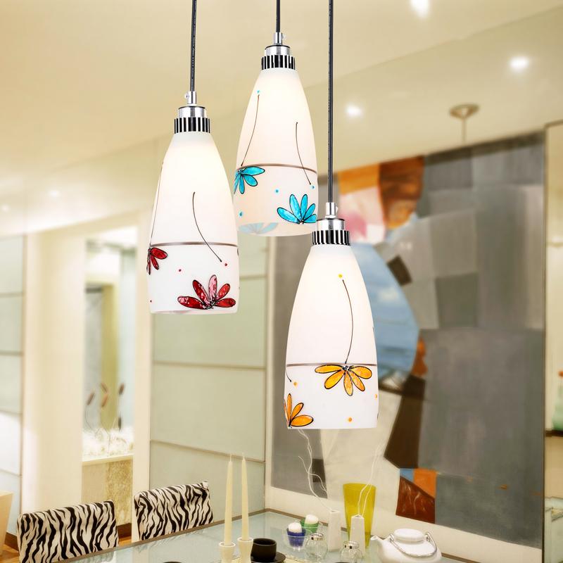 spedizione gratuita luce ristorante pendente lampada moderna breve lampade a sospensione illuminazione bar lampada a led lampada di cristallo