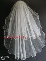 Boutique wedding dress evening dress 2 veil pearl