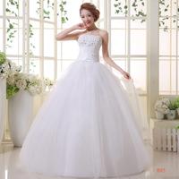 Boutique wedding formal dress wedding dress lyg bandage lacing slim tube top