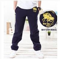 Free Shipping Cheap 1PC/Lot  2014 Spring Autumn Children Boy Kids Baby Boys Child Trousers Cotton Leisure Full Length Pants Gift