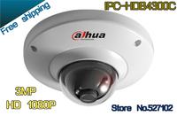 Free shipping Dahua  IP Camera IPC-HDB4300C HD 1080P Security indoor 3 Megapixel Full HD Network Dome Camera Support POE