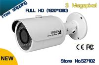 Free shipping Dahua IPC-HFW4300S IR HD 1080p IP Camera Security Outdoor 3MP Full HD Network IR Bullet Camera Support POE