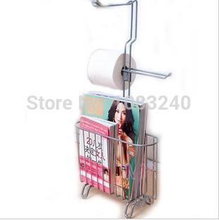 2014 new brand Iron Storage Rack Shelf Holder Multifunction Bathroom Floor Magazine Shelving Racks(China (Mainland))