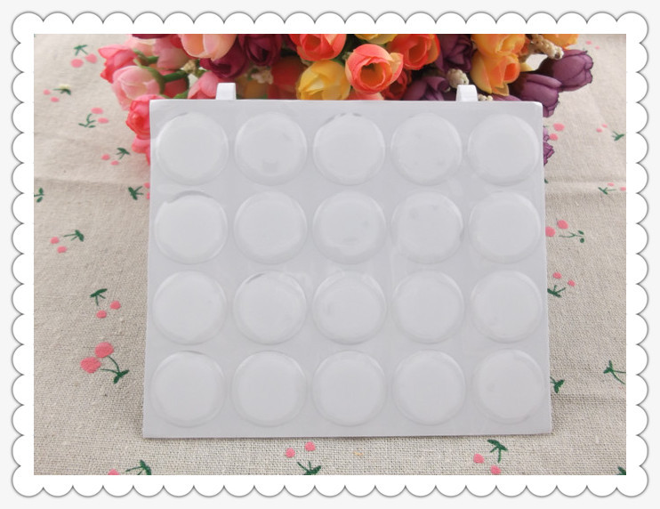 100pcs/lot 3D DOME CIRCLE 1 inch round clear epoxy sticker for DIY Bottle cap sticker Self Adhesive Resin Dots stickers(China (Mainland))