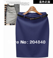 2014 Fashion Women's Business Suit Pencil Skirt Elegant Wool Vocational OL Skirts Include 5 colors