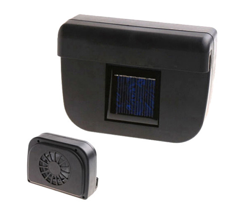 Free Shipping Solar Power Car Auto Cool Air Vent With Rubber Stripping,car ventilation fan(China (Mainland))