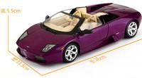 bat car/1:18 purple sport car/toy car model
