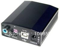 Free shipping- New Super pro DAC68 HiFi 24bit/192khz PCM/SPDIF Audio DAC Free external power supply USB sound card