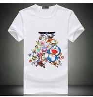 Free Shipping Doraemon Shirt Tops Japan Anime Almighty Doraemon TShirt Mens Casual Anime Shirt