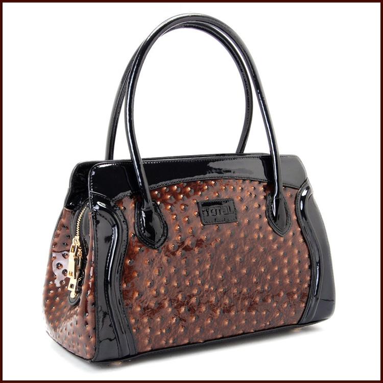 Total 2014 women's handbags ostrich grain handbag women's commercial handbag ol(China (Mainland))